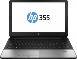 "HP ProBook 355 G2 15.6""(1366x768 (матовый))/AMD A4 6210(1.8Ghz)/4096Mb/500Gb/DVDrw/Ext:AMD Radeon R5(2048Mb)/Cam/BT/WiFi/47WHr/war 1y/2.3kg/Metallic Grey/W8.1"