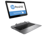 "HP Pro X2 612 G1 12.5""(1366x768)/Touch/Intel Core i3 4012Y(1.5Ghz)/4096Mb/128SSDGb/noDVD/Int:Intel HD4200/Cam/BT/WiFi/29.3WHr/war 1y/0.9 (1.86)kg/Metallic Grey/W8.1Pro + FPR"